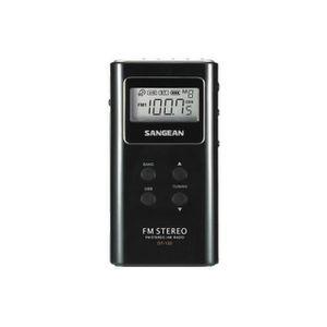 RADIO CD CASSETTE SANGEAN DT120NOI Radio portable Pocket - Noir