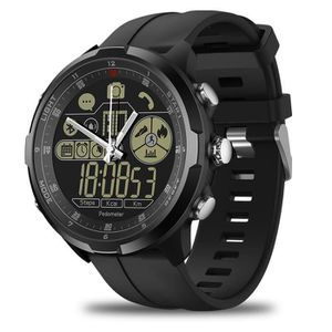 MONTRE CONNECTÉE Smartwatch Ronde Homme, Montre Connecté de Sport T