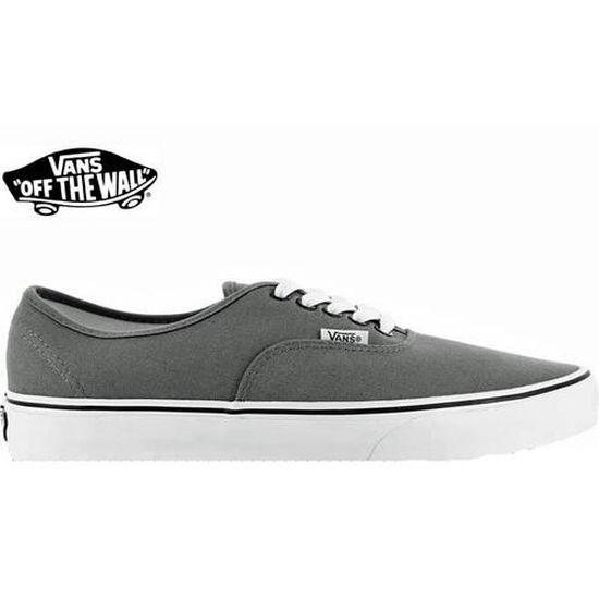 vans grise noir