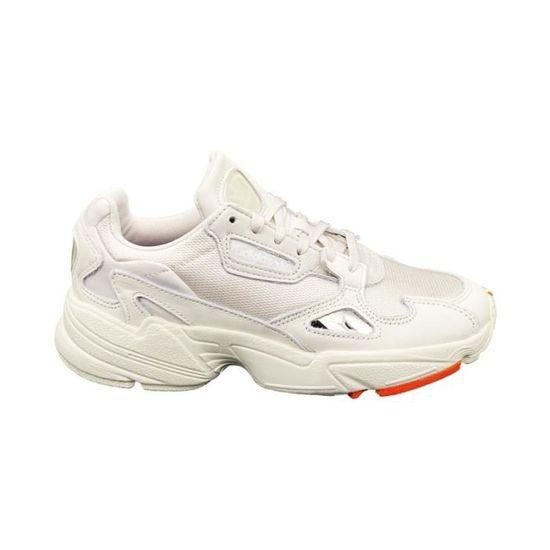 adidas chaussures falcon w blanc 38