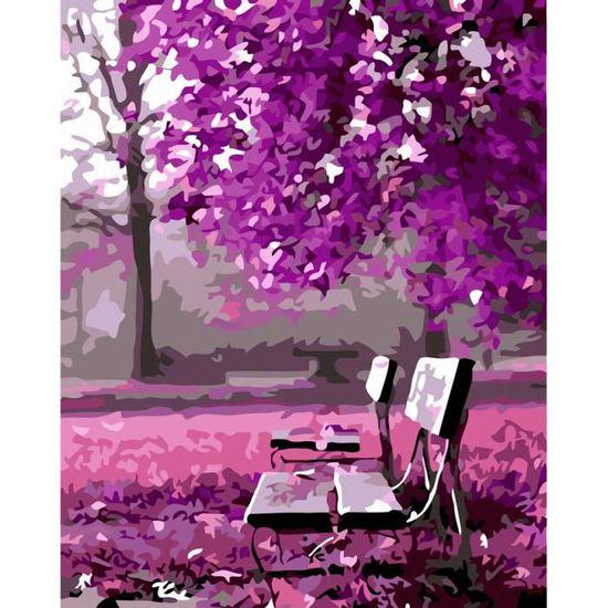 YOO SADA Peinture par Numero Adulte DIY Peinture /à lhuile par num/éros Peinte /à la Main Peinture