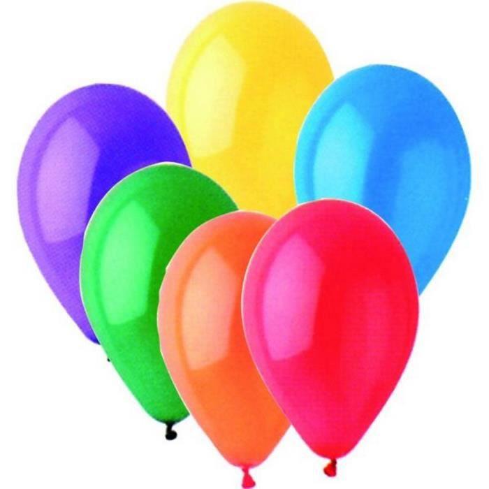 Lot de 100 ballons gonflables