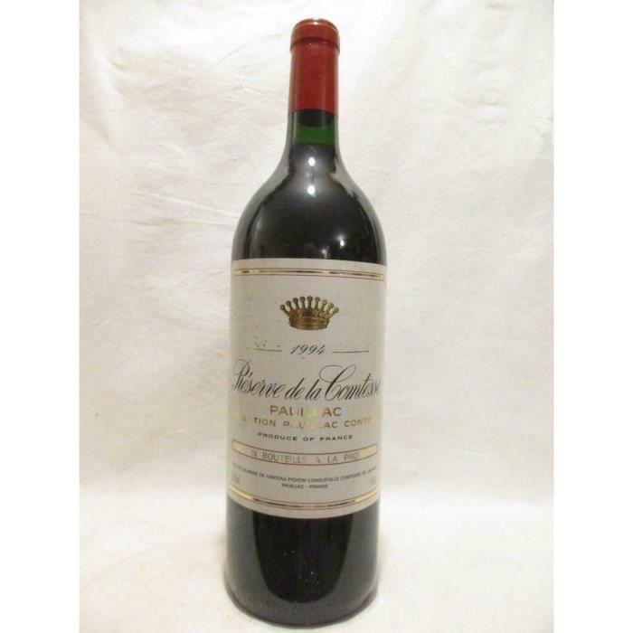 magnum 150cl pauillac réserve de la comtesse pichon longueville rouge 1994 - bordeaux