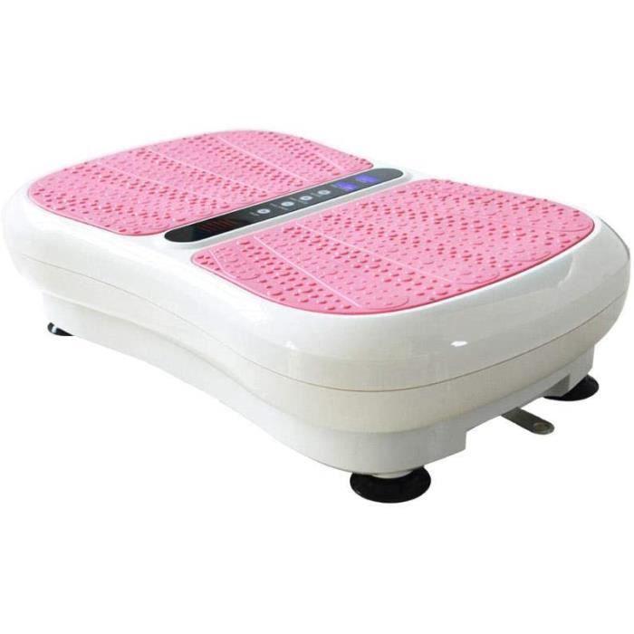 Topashe Plateforme Vibrante pour Fitness et Musculation,Vibration Amincissante Machine, Machine &agrave secouer Multifonction,P298