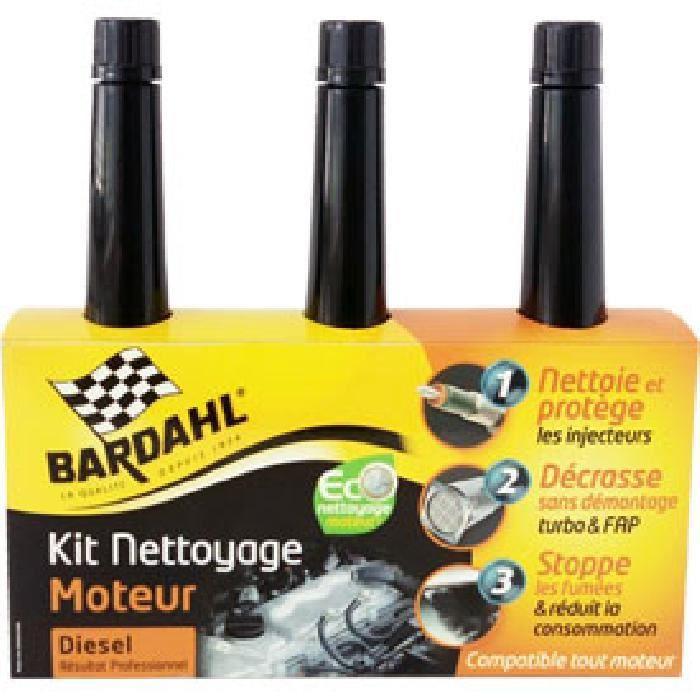 BARDAHL Kit Eco Nettoyage Moteur - 3 x 250 ml