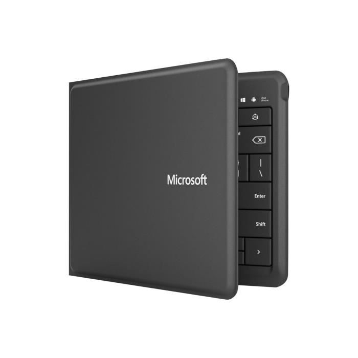 Microsoft Universal Foldable Keyboard Clavier Bluetooth Disposition R-U