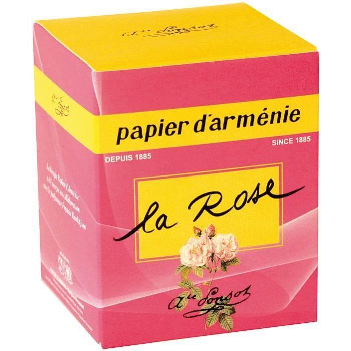 Bougie blanche avec bougeoir en verre transparent - parfum rose