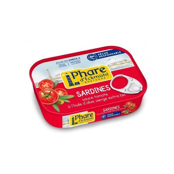 Sardines à la tomate huile olive 135gr msc (ipip-cib)