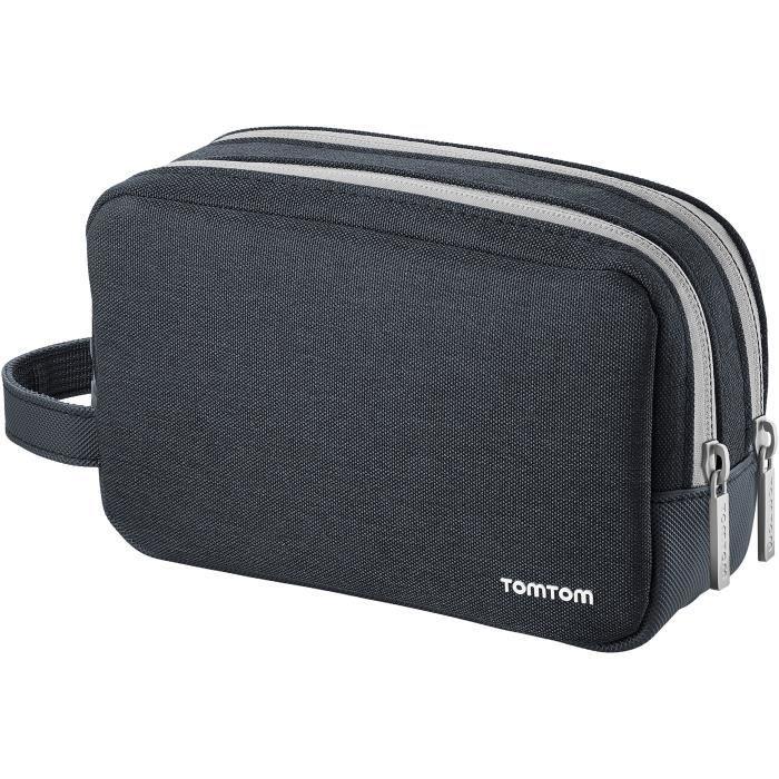 TomTom - Housse de transport universelle adaptée à tous les GPS TomTom 4,3 pouces, 5 pouces et 6 pouces (notamment les TomTom GO,
