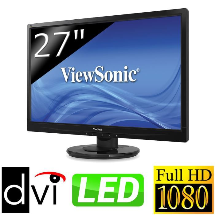 ViewSonic VA2746-LED Ecran 27''