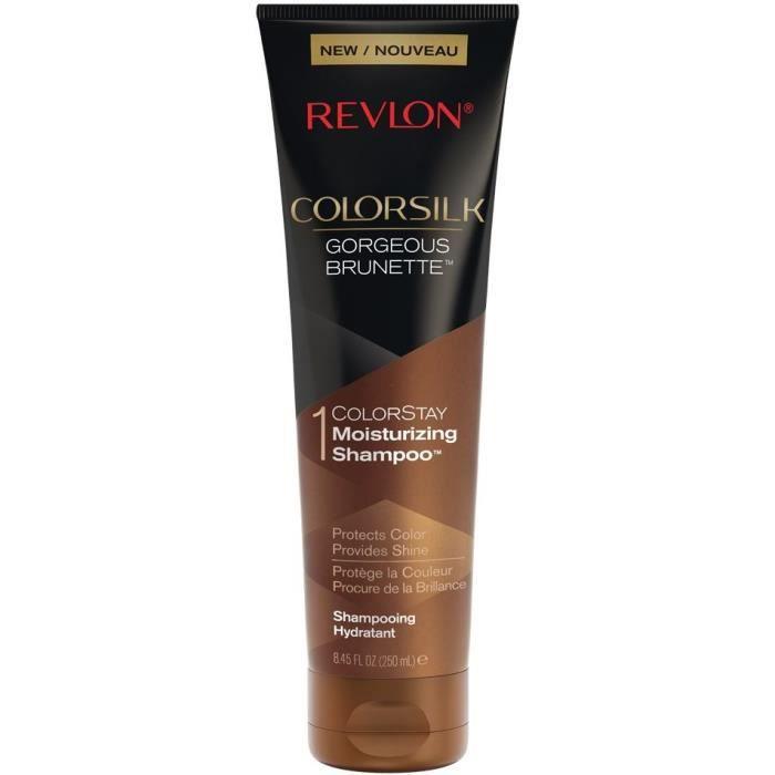 REVLON Shampoing hydratant Colorsilk - Gorgeous Brunette - 250 ml