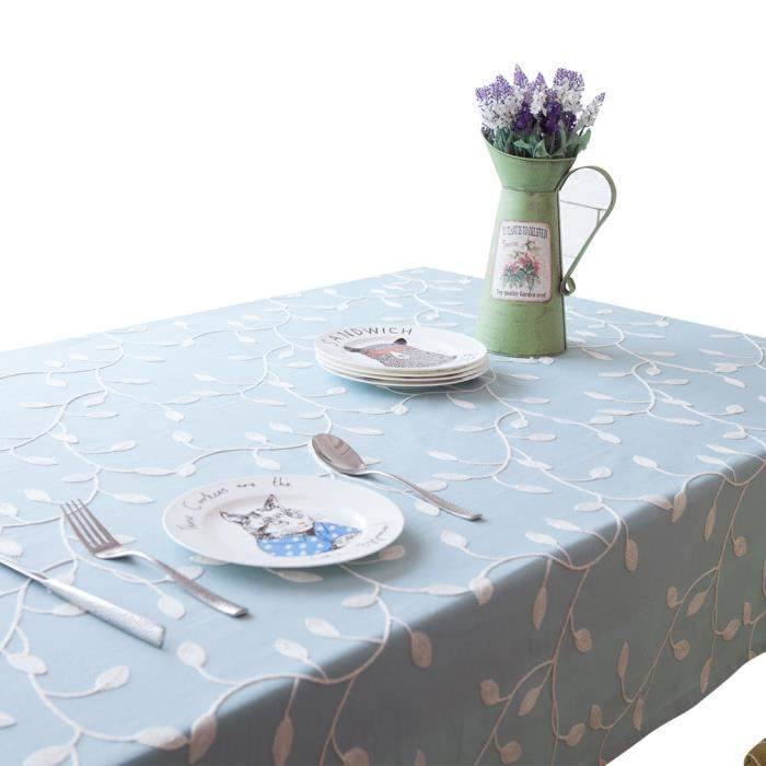 Keral nappes imprim anti taches polyester nappe de table - Nappe table exterieur ...