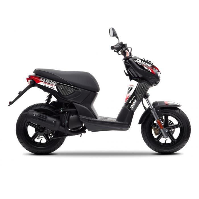 Motodak Capot Moteur Droit Scooter tunr Compatible avec Nitro//aerox 2013 Noir