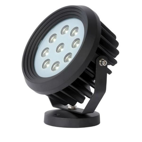 Lucide spot piquet ext rieur amovible led flood ip65 for Spot led exterieur design