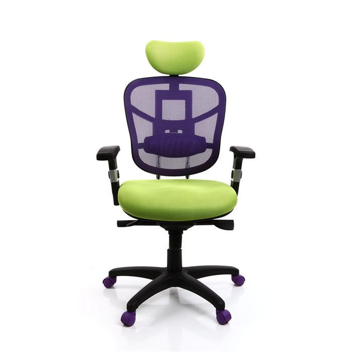 fauteuil de bureau ergonomique anis et violet achat vente chaise de bureau vert cdiscount. Black Bedroom Furniture Sets. Home Design Ideas
