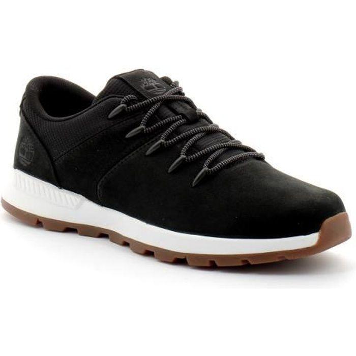 chaussures timberland sprint trekker low noir marron