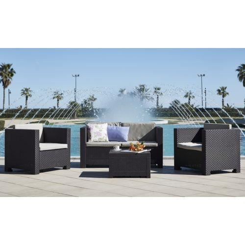 Awesome Table De Jardin Resine Beton Contemporary - Amazing House ...