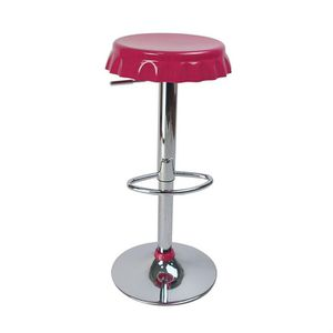 Tabourets de bar / cuisine rose CAPSULE (lot de 2)