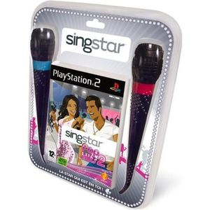 JEU PS2 SINGSTAR POP HITS 2 + 2 MICROS / JEU CONSOLE PS2