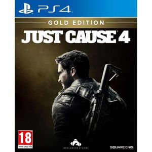 JEU PS4 JUST CAUSE 4 Gold Edition Jeux PS4
