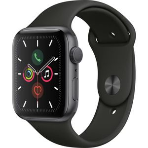 MONTRE CONNECTÉE Apple Watch Series 5 GPS 44 mm Boîtier Aluminium G