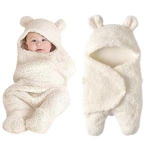 COUVERTURE - PLAID BÉBÉ Nouveau-né bébé mignon coton Réception couverture
