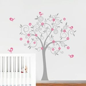 stickers chambre bebe fille achat vente stickers chambre bebe fille pas cher cdiscount. Black Bedroom Furniture Sets. Home Design Ideas