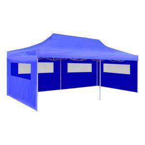 TONNELLE - BARNUM Barnum bleu pliable 6 x 3 x 3,15 m
