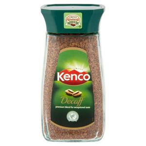 CAFÉ Kenco - Café décaféiné soluble - lot de 4 pots de