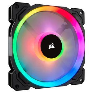 VENTILATION  Corsair LL140 RGB, Boitier PC, Ventilateur, 14 cm,