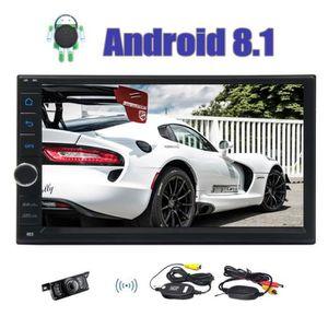 AUTORADIO Caméra de recul sans fil + Android 8.1 Car Stereo
