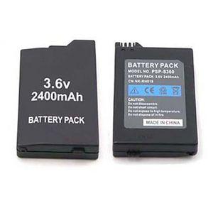 BATTERIE DE CONSOLE Batterie Logitech PSP 2000-3000 2400mAh pour Sony