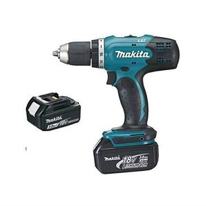PERCEUSE Perceuse visseuse MAKITA 18V 3.0Ah + 2 Batteries,