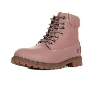 BOTTINE Boots Fila Maverick Mid Wmn Ash Rose