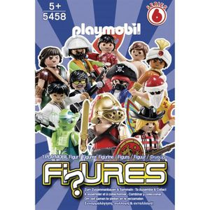 FIGURINE - PERSONNAGE PLAYMOBIL 5458 Figures Garçons Série 6