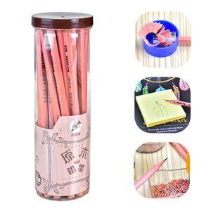 PLUME - PORTE PLUME 30pcs HB bois crayons hexagonal baril facile à rou