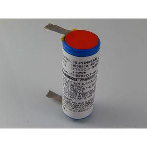 RASOIR ÉLECTRIQUE vhbw Li-Ion batterie 1600mAh pour rasoir tondeuse