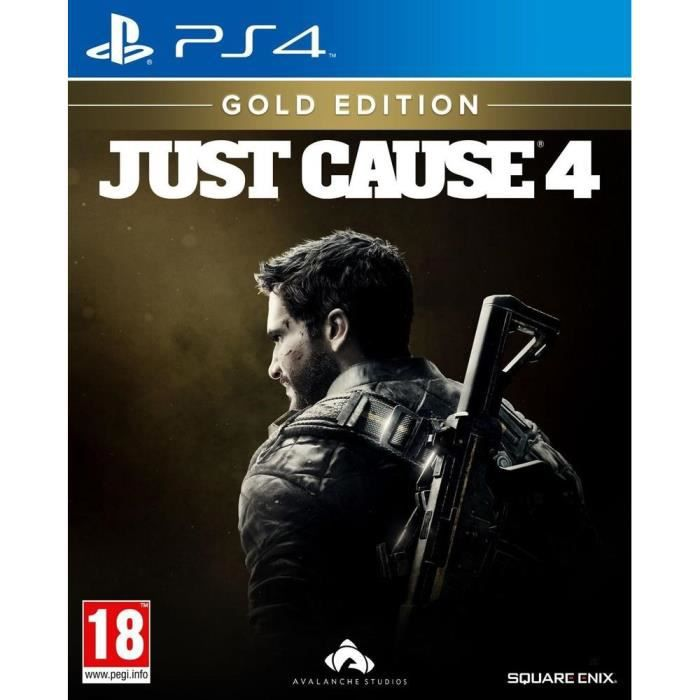 JUST CAUSE 4 Gold Edition Jeux PS4