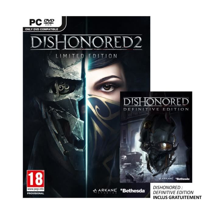 Dishonored 2 Limited Edition Jeu PC