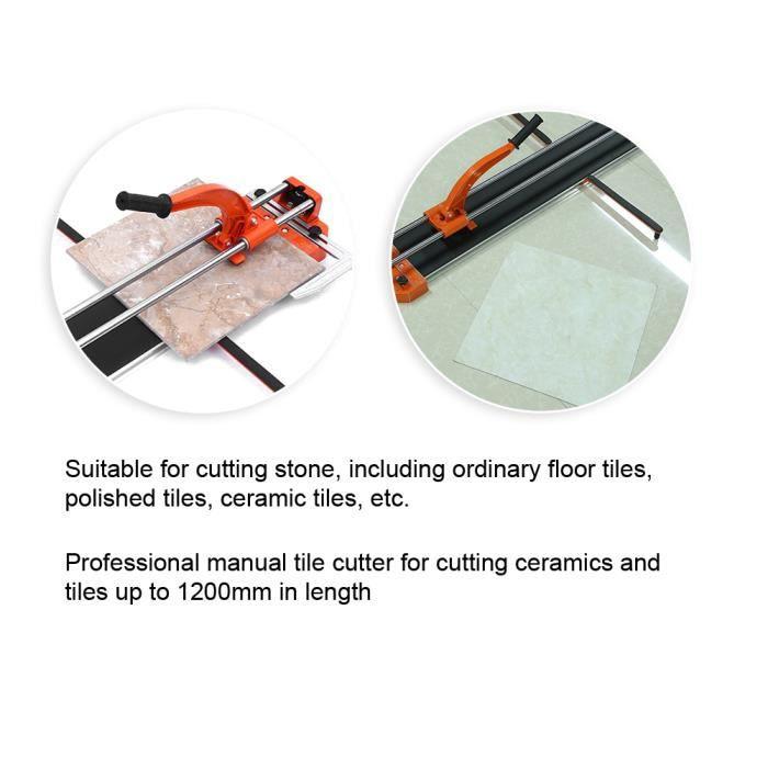 Outil de coupe de pierre à roulement à billes infrarouge manuel professionnel 1000mm