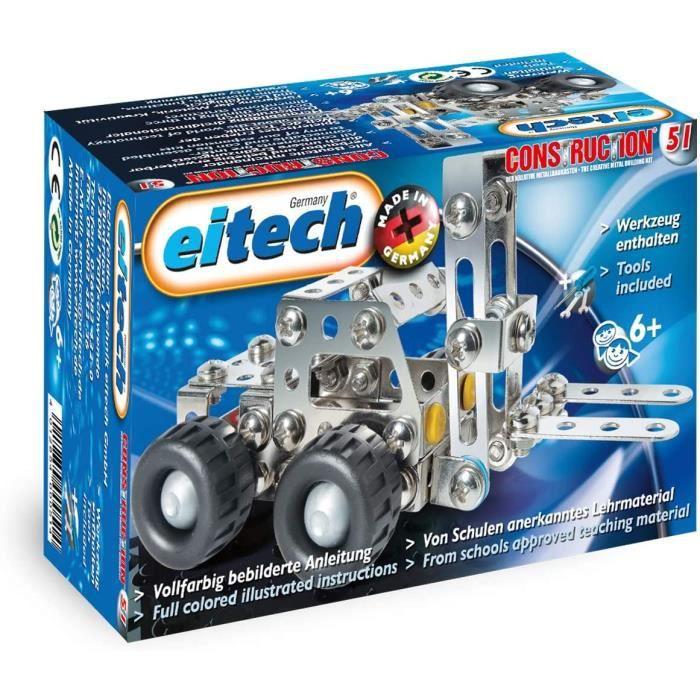 Jeux de construction Eitech Construction – C51 – Chariot élévateur 51731