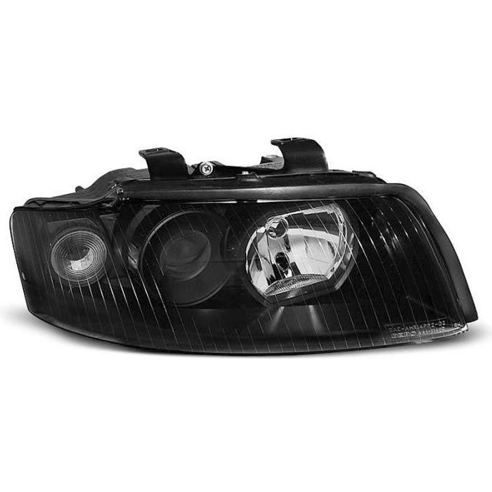 Paire de feux phares Audi A4 B6 00-04 noir halogene U55