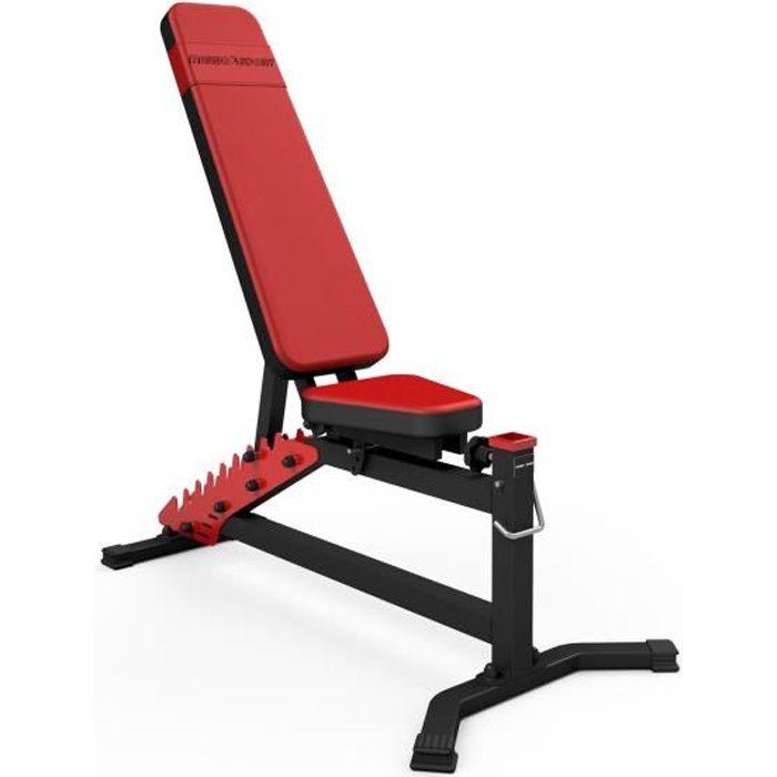 Marbo Sport Banc de Musculation réglable Banc de poids Réglable Entraînement MS-L102