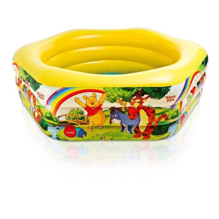 Disney Winnie L'ourson De Piscine Deluxe 191 Cm X 178 Cm X 61 Cm 57494 Np UQFEN