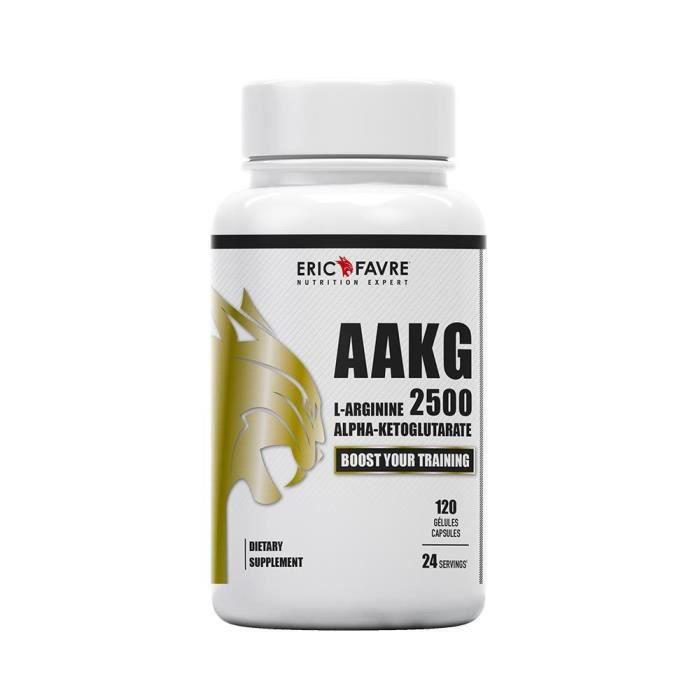 L-Arginine Alpha-Ketoglutarate - AAKG 2500 - Eric Favre