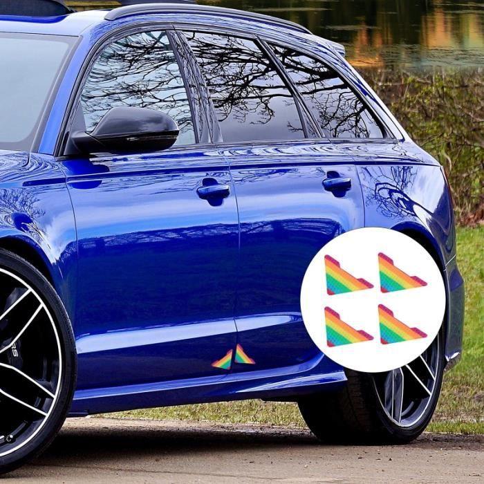 4pcs autocollants de Voiture Réffléchissants MIS personnalisation vehicule - decoration vehicule confort conducteur passager