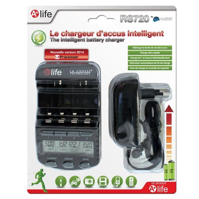 RS720 Chargeur d'accus intelligent - LX Processor