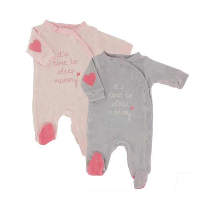 Pyjamas Bébé Lot de 2