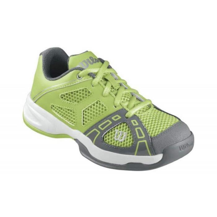 Chaussures WILSON Garçon Rush Pro JR 2 Vert / Graphite AH 2014
