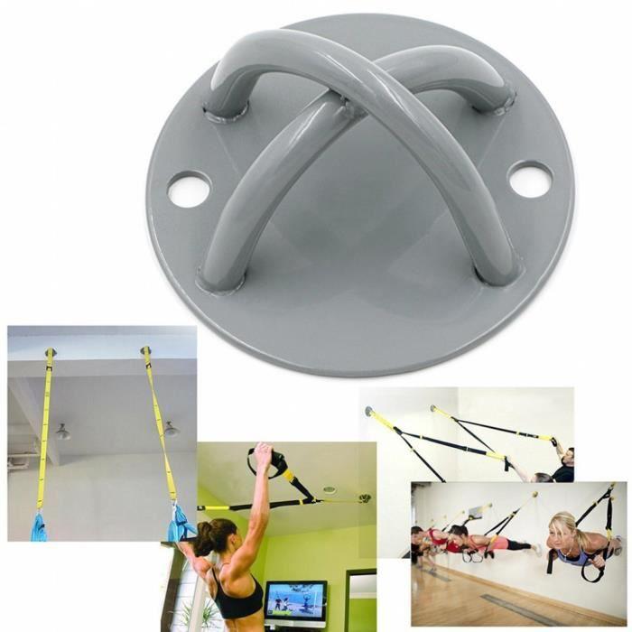 Support Yoga Ancrage de plafond Support de fixation murale pour sangles de suspension